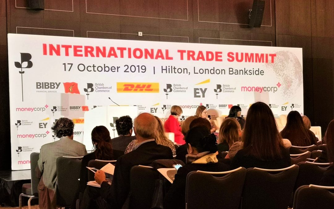 Prosperamo Business Consulting at BCC International Trade Summit 2019 London